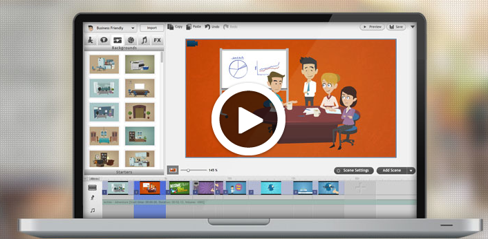 Инструменты для создания анимационных историй