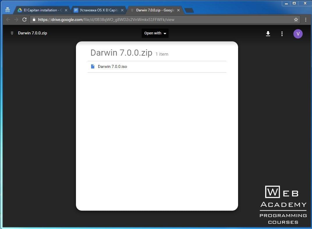 Установка OS X El Capitan 10 11 на VMware Workstation под Windows